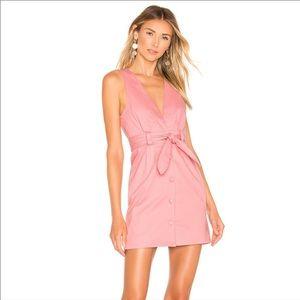 Lovers + Friends Norah Mini Dress Pink Size Small